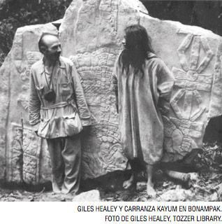 Muchos sitios mayas fueron descubiertos durante los cuarenta con la  búsqueda del chicle. Bonampak es 955b49481e5